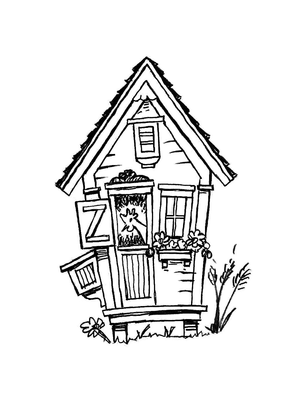 The Bird House - In Progress