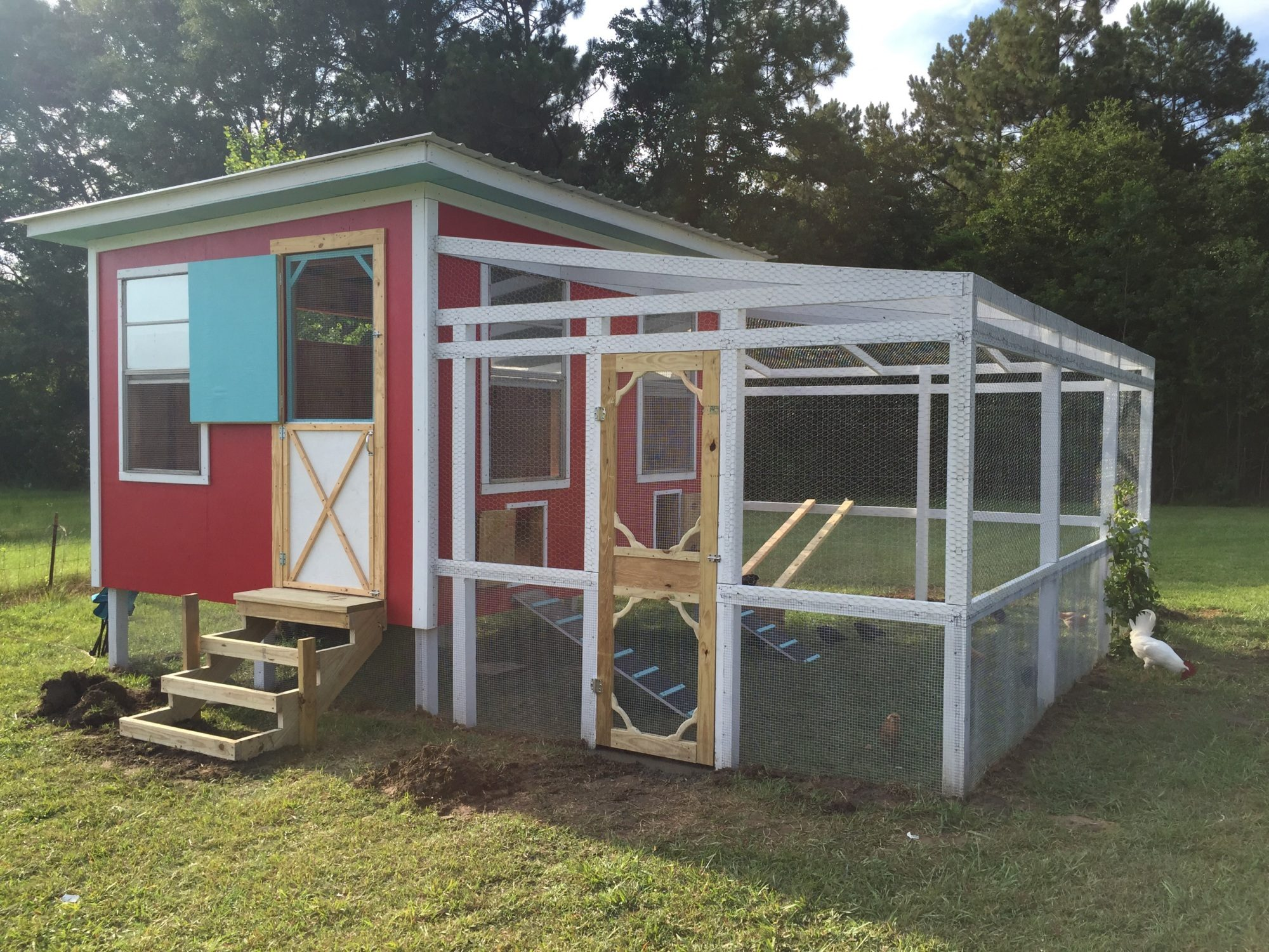 The coop is almost finished!