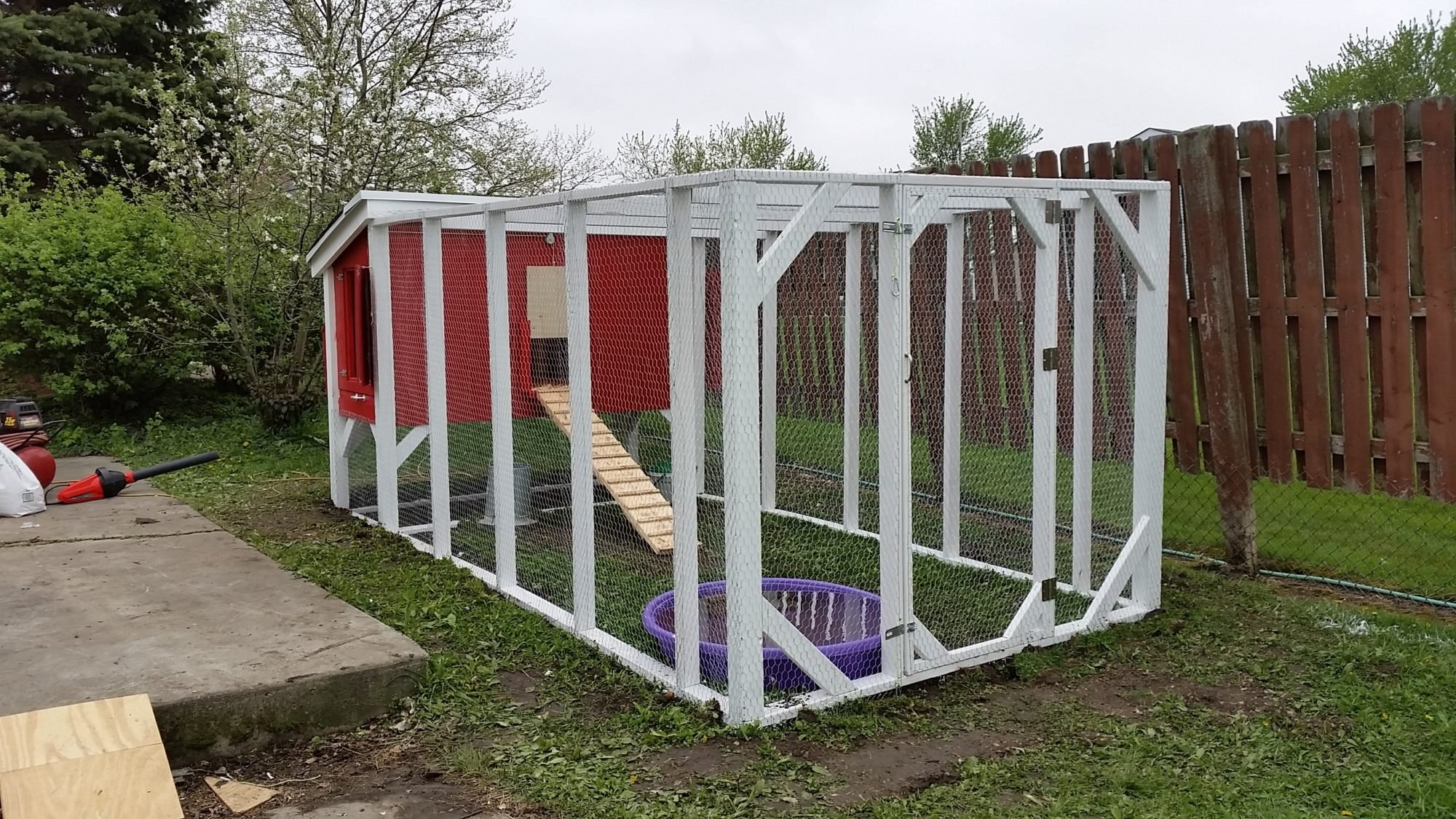 Our Chicken Coop!!!