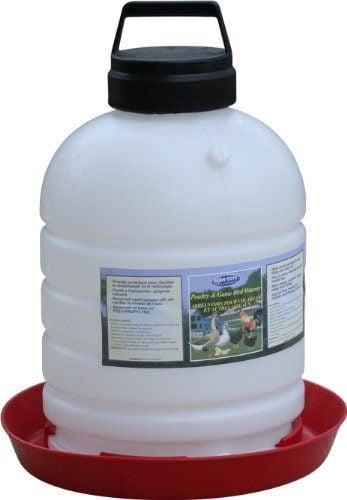 Farm Tuff Top Fill Poultry Fountains, 5-Gallon