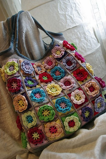 littlecritters's photos in Flower Power, winter has been to long crochet swap, closes March 10