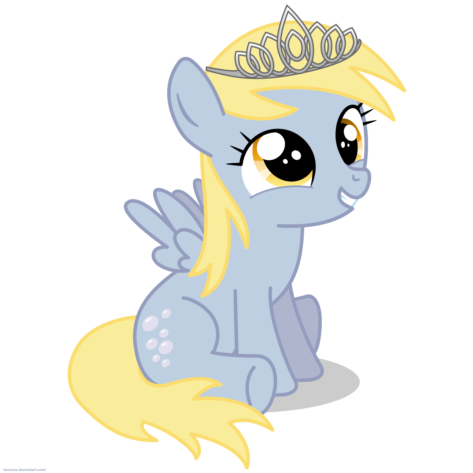 little_derpy_with_tiara___png_by_larsurus-d4bihu6.png