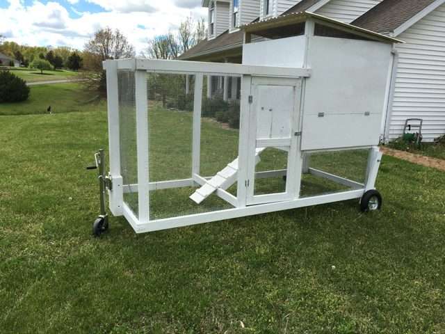New chicken tractor!
