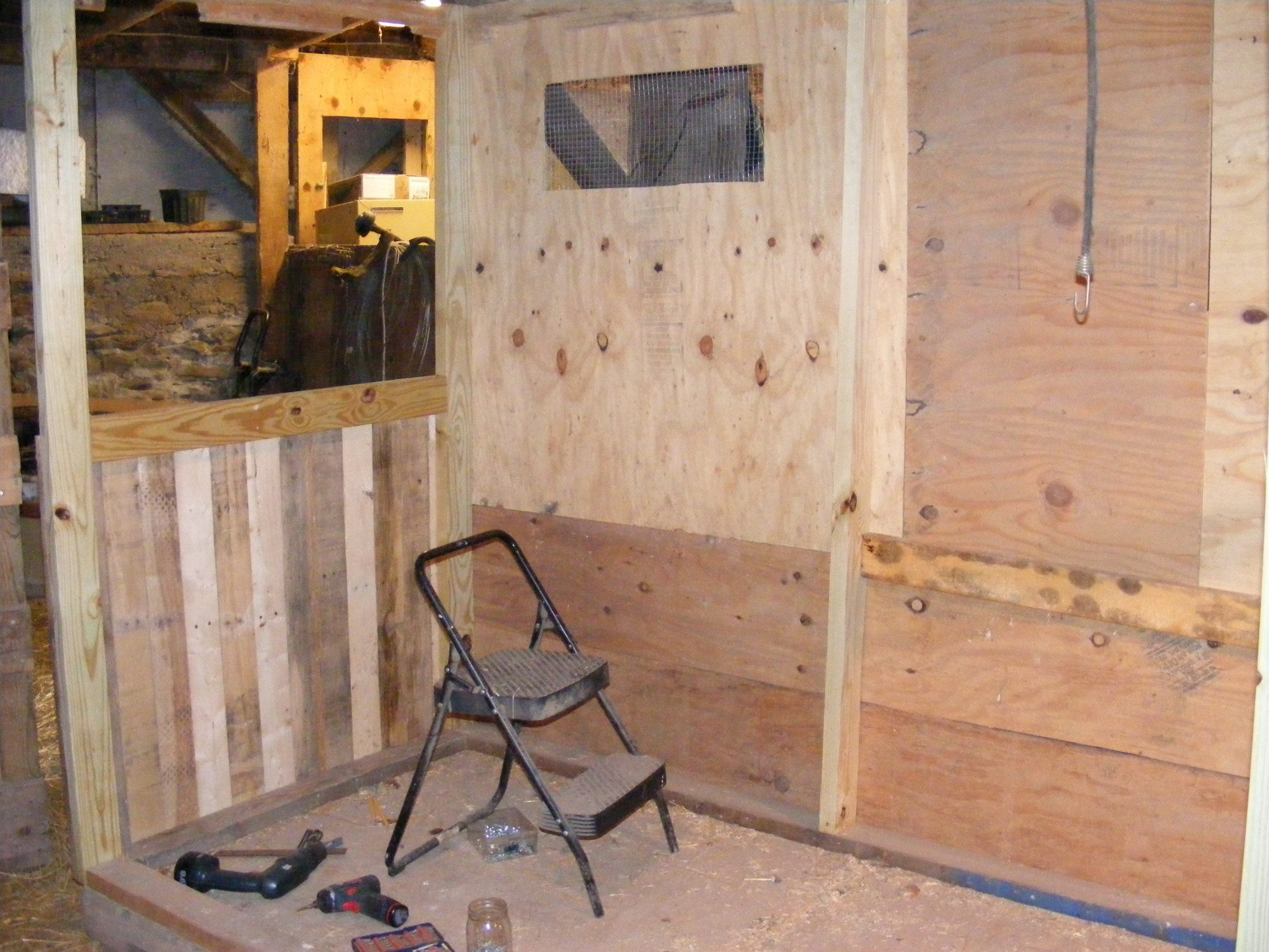 coop #2 under construction
