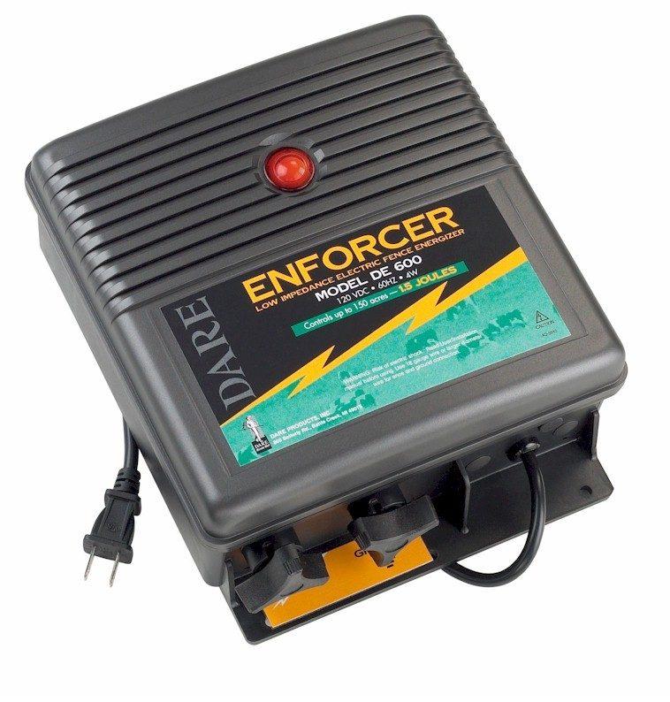 1.5 Joule - Electric Fence Energizer - DE 600