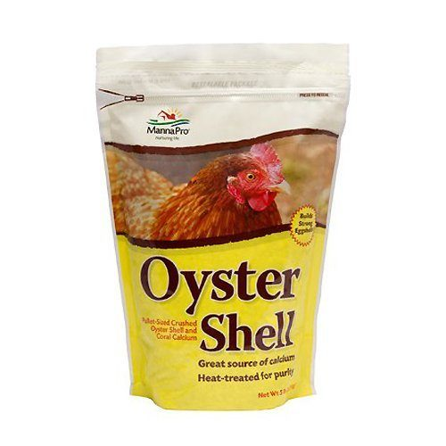 Manna Pro 0806960236 Crushed Oyster Shell for Birds, Pullet Size