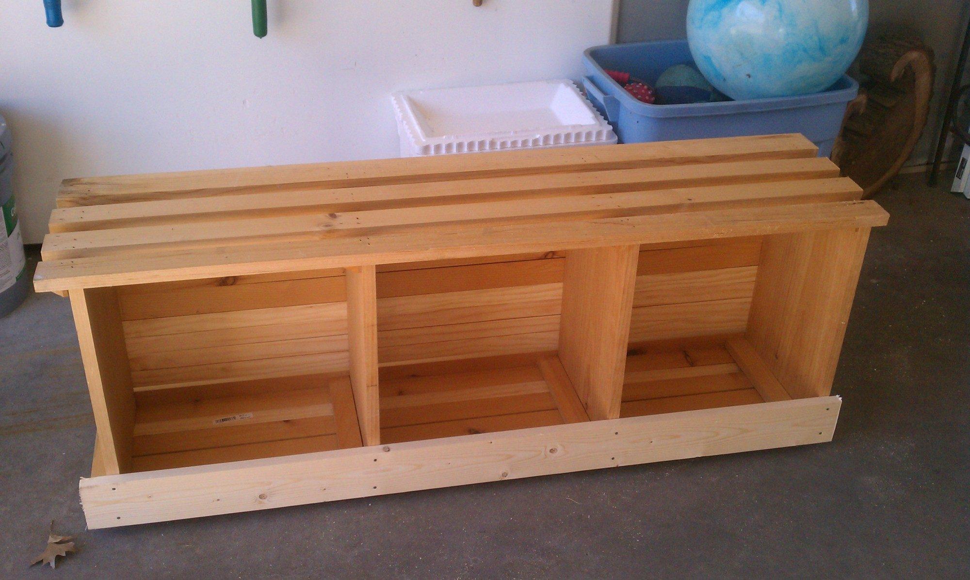 Как построить гнезда для индоуток своими руками: чертежи 20