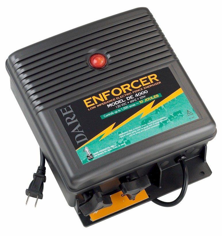 10 Joule - Electric Fence Energizer - DE 4000