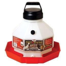 Little Giant - 3 Gallon Plastic Poultry Waterer - PPF3