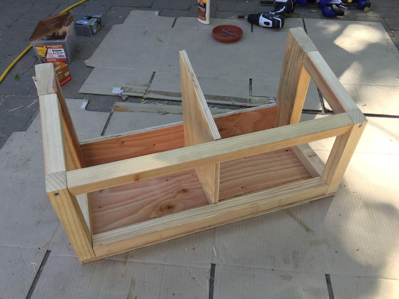 Nest box framing
