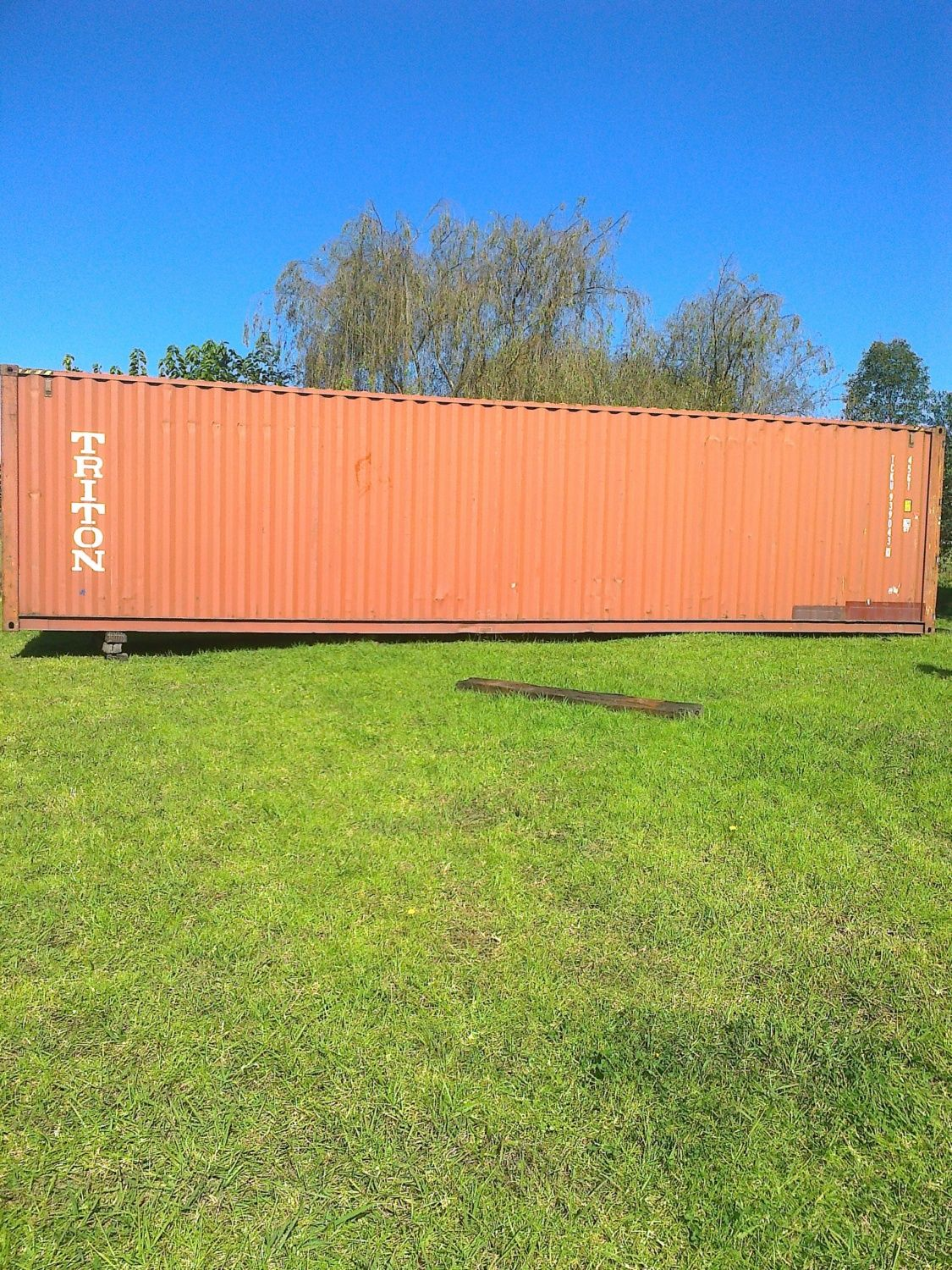here is my 40 foots shipping container converted into 12 breeders coops . 