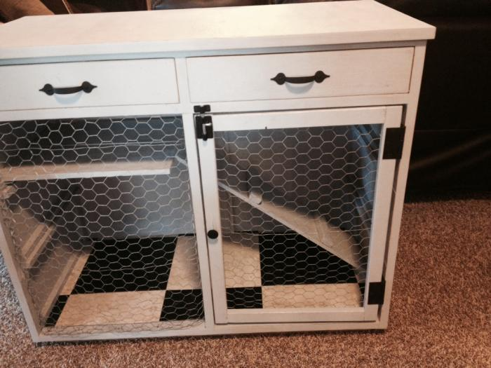 Indoor Rabbit Hutch Diy