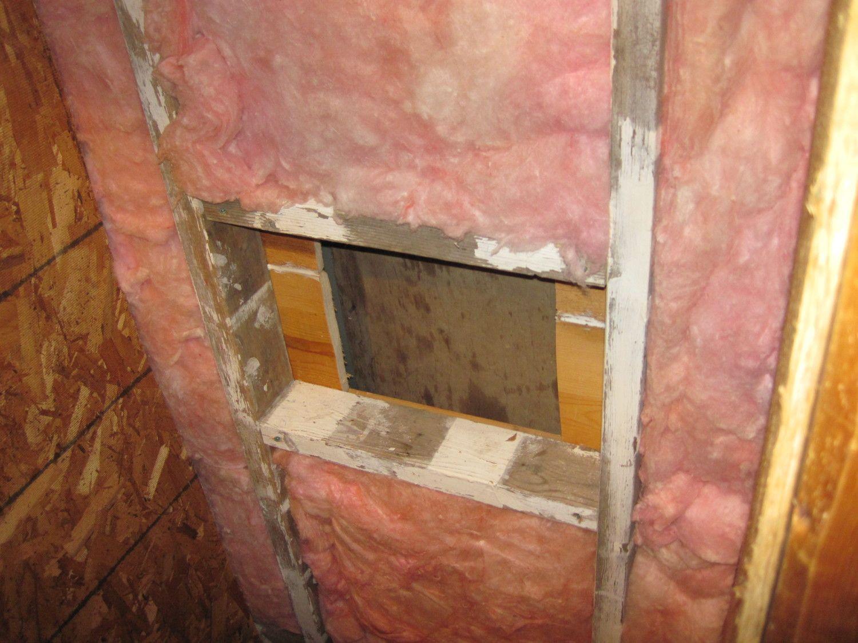 Egg door and insulation