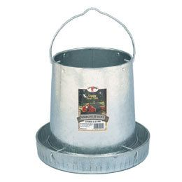 12 lb. Metal Hanging Poultry Feeder