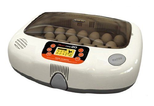 R-Com RCOM Pro 20 PX20 Fully AUTOMATIC Digital Egg INCUBATOR Brand NEW WARRANTY Your Local USA Distributor