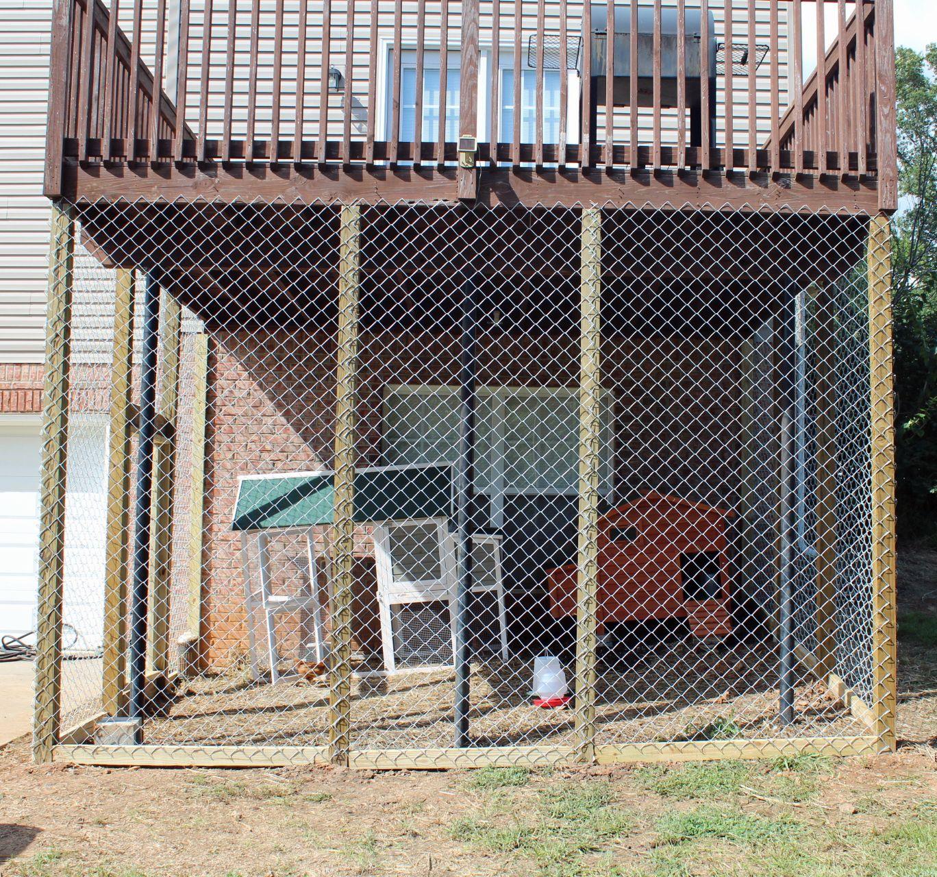 Under-Deck Enclosure