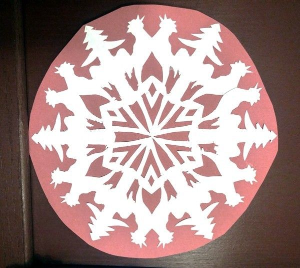 Sally Sunshine's photos in 2017 Groundhog Day Hatch-a-long Paper Snowflake contest!
