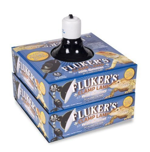 Fluker's Repta-Clamp Lamp 8.5 inch Ceramic with Dimmable Switch
