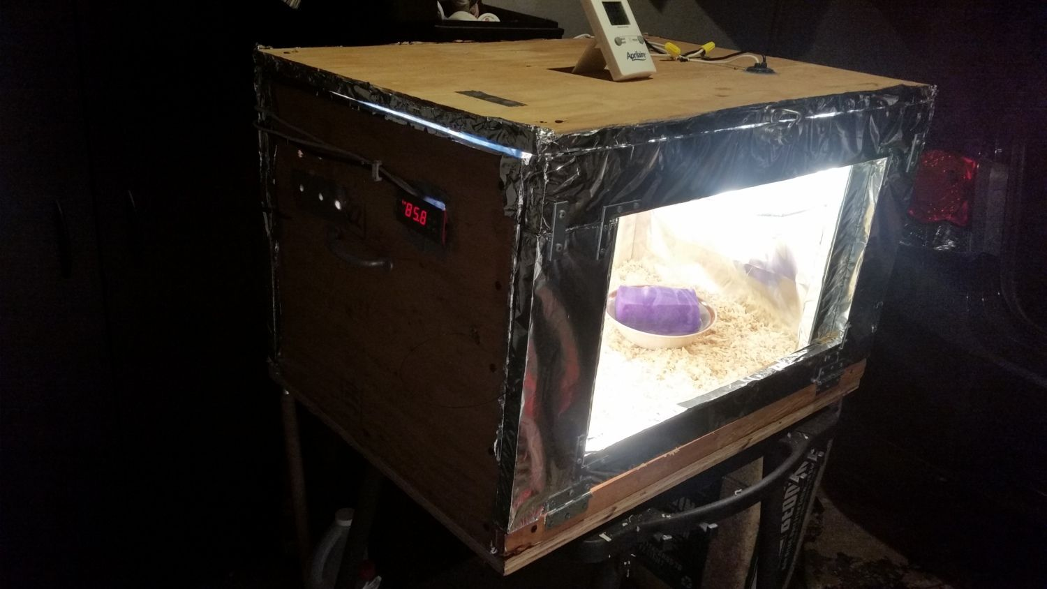 Incubator built in a weekend
