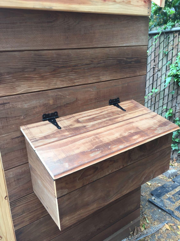 Nest box cover