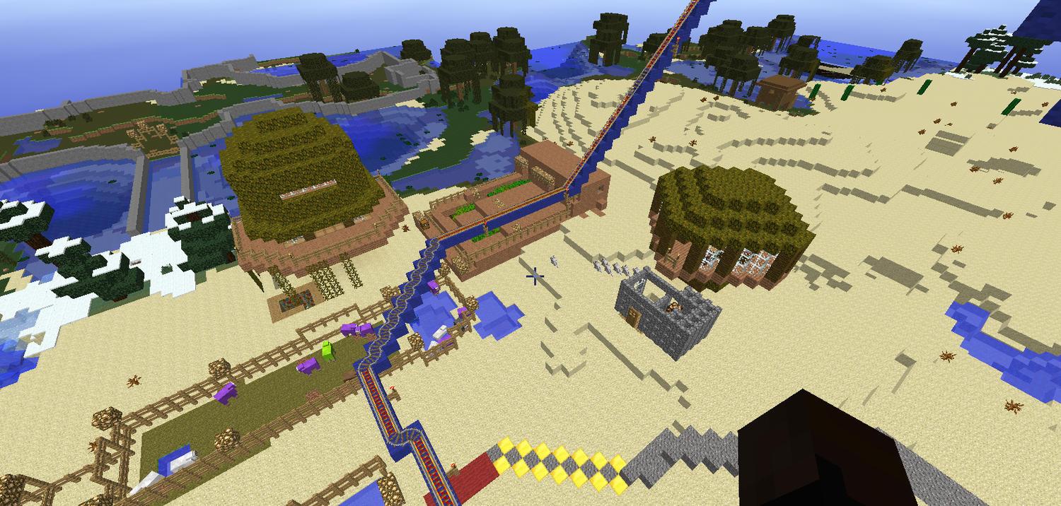 Rollercoaster 1 Track part 4