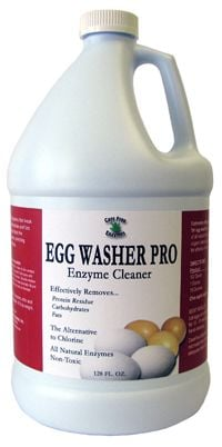 Egg Washer Pro Enzyme Cleaner 128 oz.