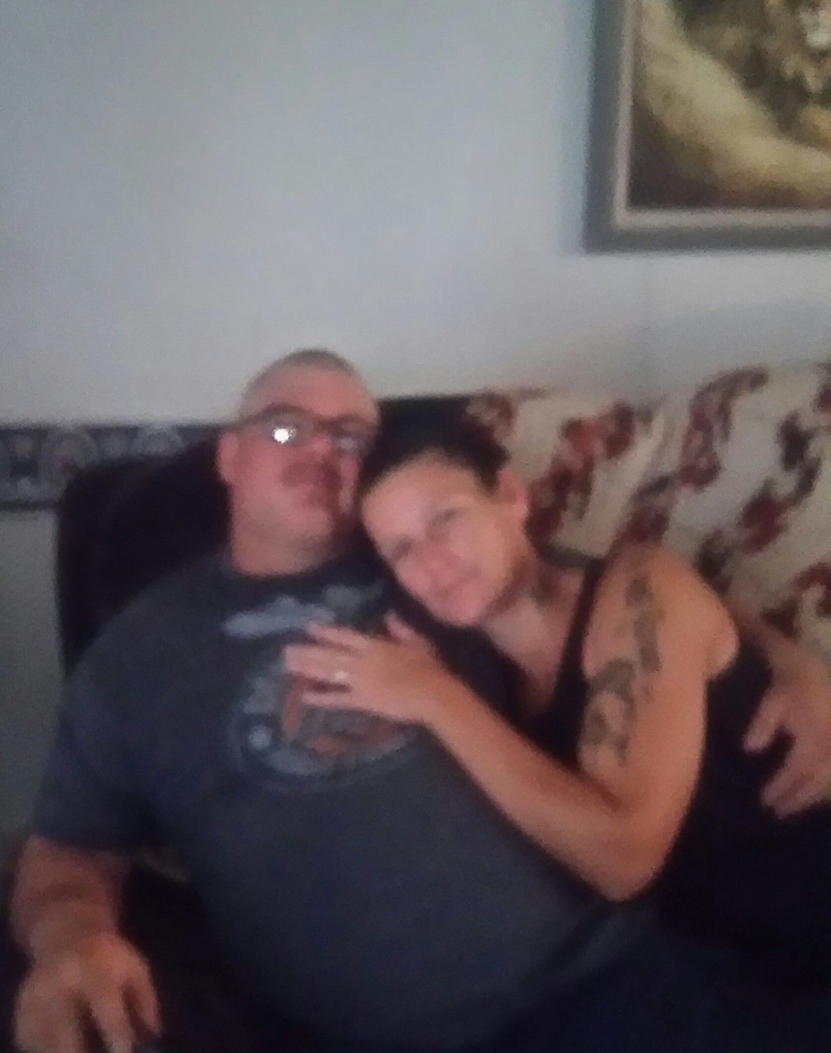 My fiancee Russell S Smith and Dana