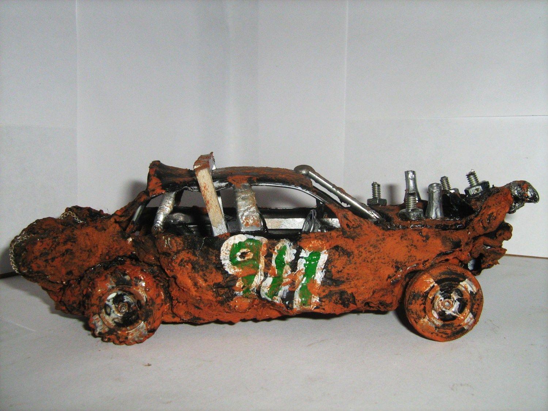 I make demolition derby car models