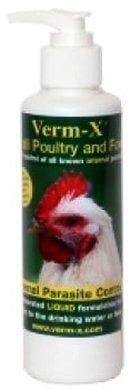 Verm-X Liquid Poultry & Fowl Internal Parasite 250Ml