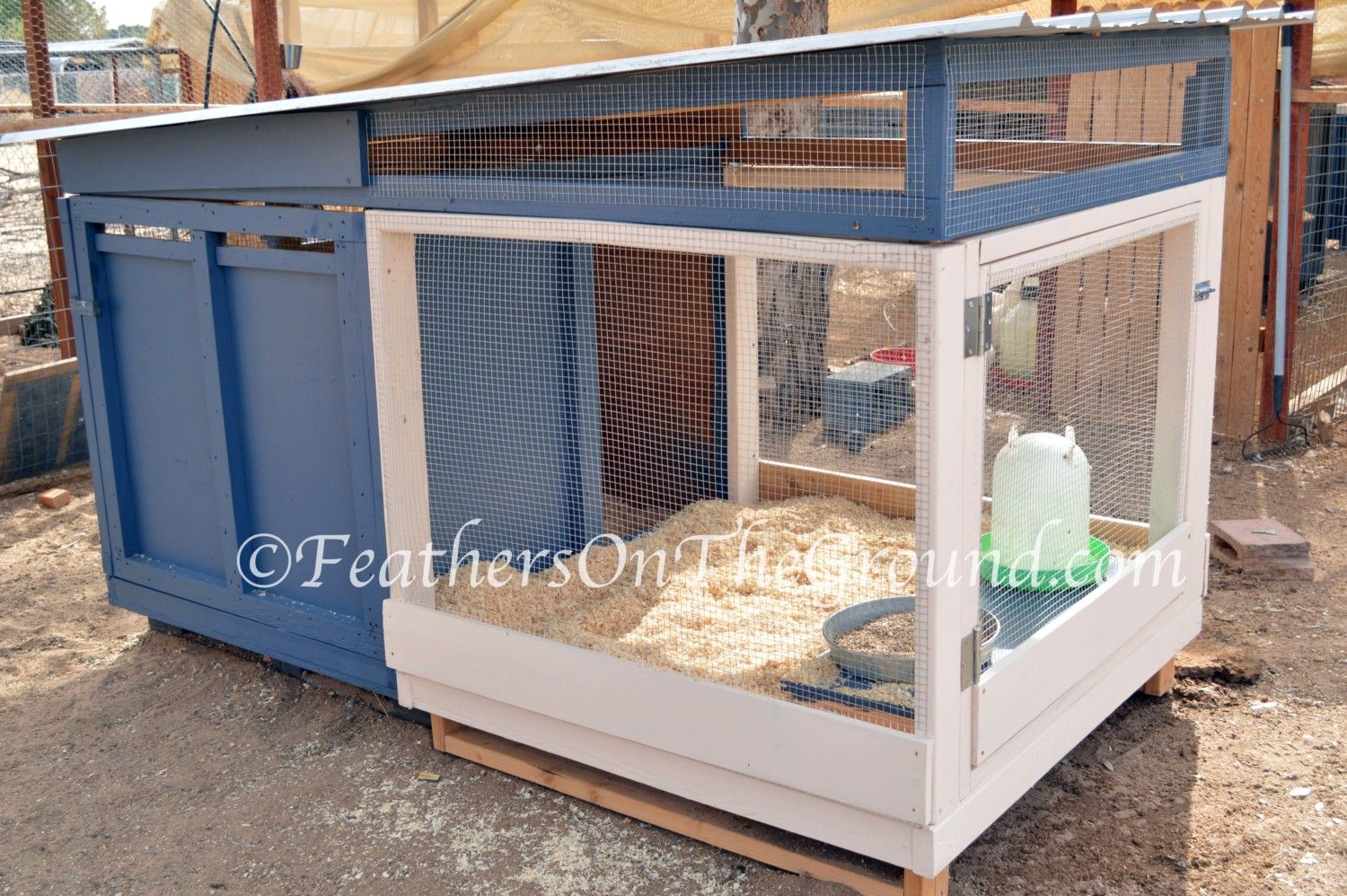 NoseyChickens's photos in My Handmade 2 Story Brooder