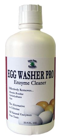 Egg Washer Pro Enzyme Cleaner 33.9 oz.