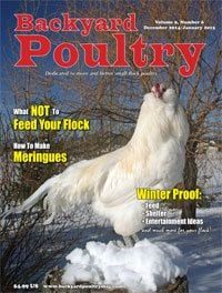 Backyard poultry magazine Volume 9, Number 6 December 2014/January 2015