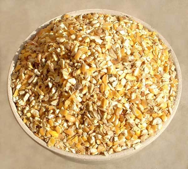 Broken Corn & Cracked Wheat