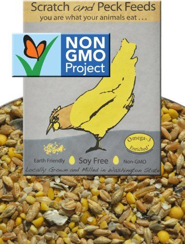Naturally Free Layer Chicken Feed, 25lbs