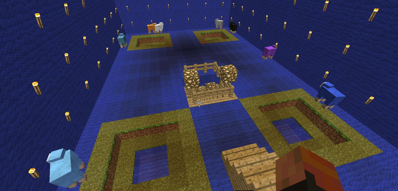 Inside of Giant Sheepie (where the new special Sheep go)